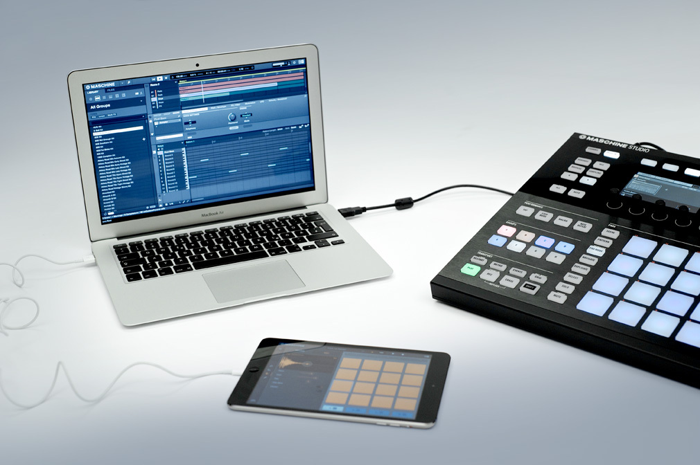 Native Instruments presenta iMaschine para iPad